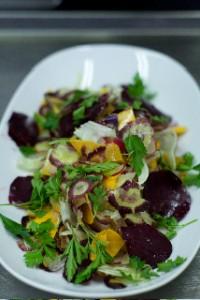 raw veg salad